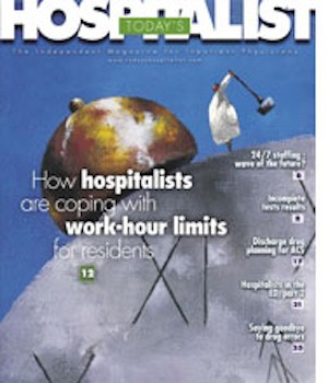 Academic hospitalists cope with life after work-hour limits