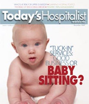 tuck in services good business or babysitting today s hospitalist