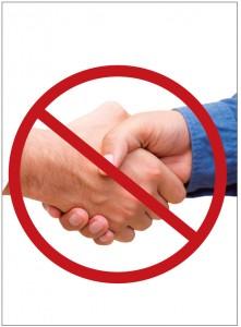 handshake free zone