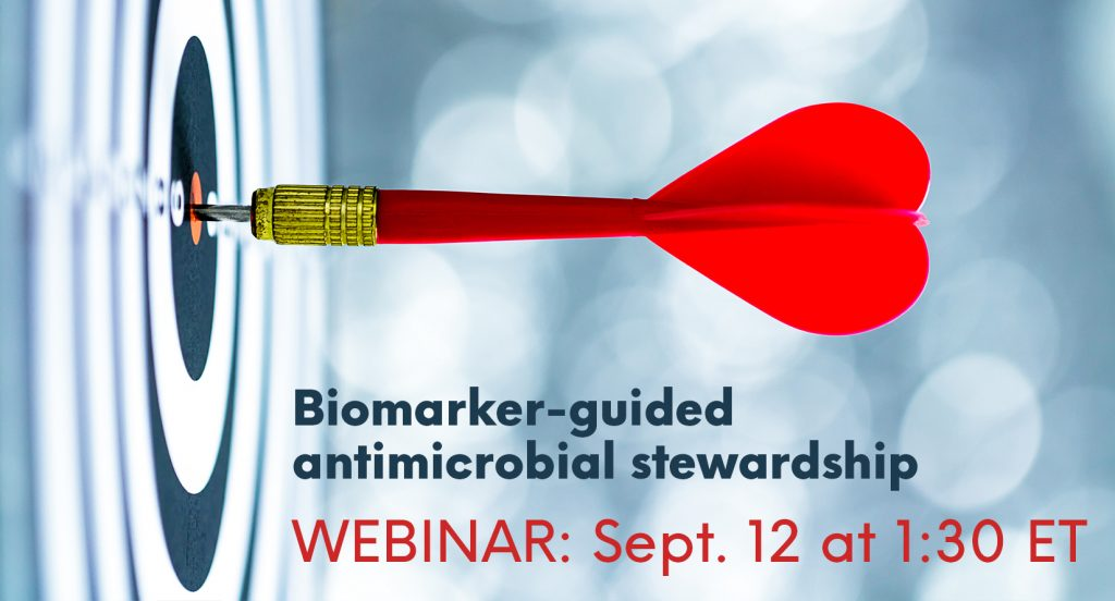 Target for biomarker-guided antimicrobial stewardship webinar