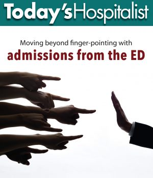 admission requests from the emergency department