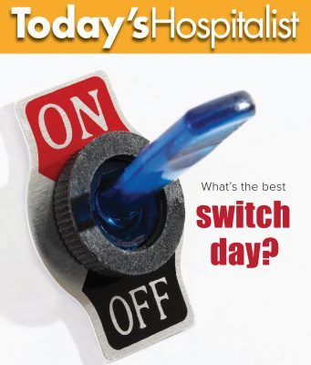 Do switch days work for hospitalists?