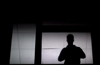 Silhouette of patient
