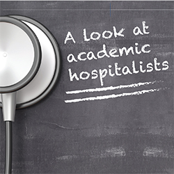 a look at academic hospitalists