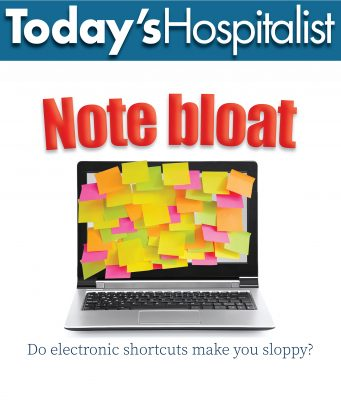 note bloat cover