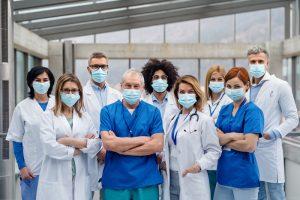 sharing medical staff